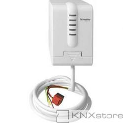 Schneider Electric KNX EMO pohon ventilu se stavovými LED a 2 BI