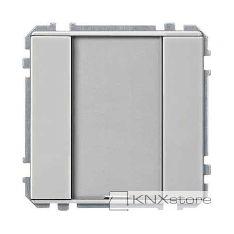 Schneider Electric KNX tlač. panel 1-násobný plus, Steinless Steel, Artec/Trancent/Antique