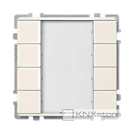 Schneider Electric KNX tlač. panel 4-násobný plus, White, System Design