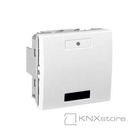Schneider Electric KNX Unica multifunkční tlačítko 1-nás. s IČ přijímačem, polar