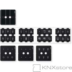 Schneider Electric Sada folií pro tlačítkový panel KNX Pro, System M