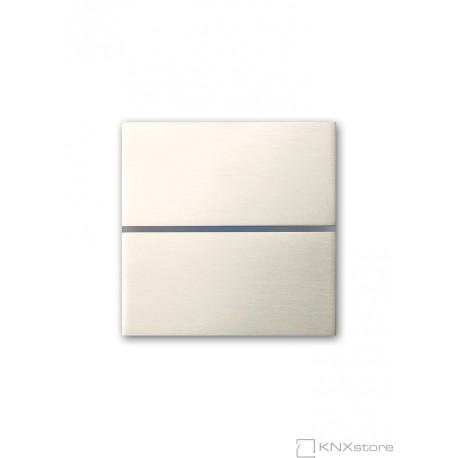 Basalte Sentido classic - dual - Brushed nickel