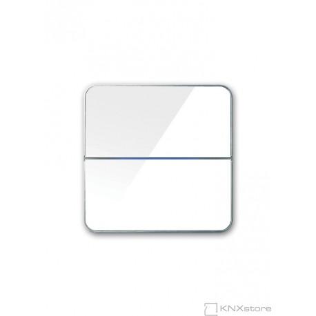 Basalte Enzo - dual - White glass