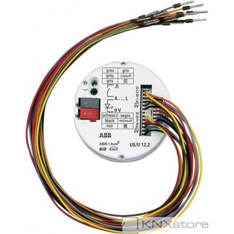 ABB KNX 12násobné univerzální rozhraní pro zapuštěnou montáž