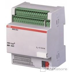 ABB KNX Řadový universální 32cestný vstup/výstup (koncentrátor)
