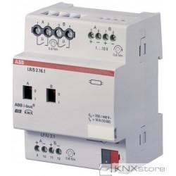 ABB KNX Řadový regulátor osvětlení 2násobný