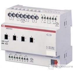 ABB KNX Řadový regulátor osvětlení 4násobný