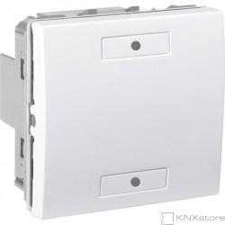 Schneider Electric KNX Unica multifunkční tlačítko 1-nás., polar