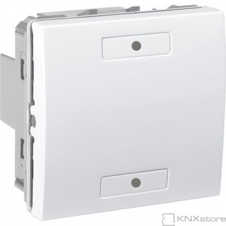 KNX Unica multifunkční tlačítko 1-nás., polar
