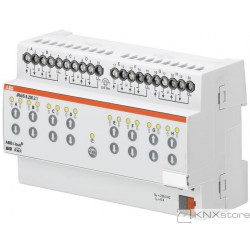 ABB KNX Řadový žaluziový akční člen 8násobný, 230 V AC, manuální ovládání