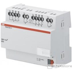 ABB KNX Řadový akční člen pro řízení ventilace, 2násobný