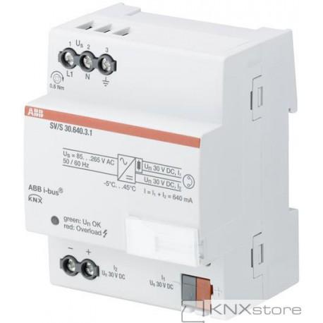 ABB KNX Řadový napájecí zdroj, 640 mA