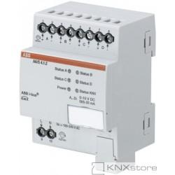 ABB KNX Řadový analogový akční člen 4násobný