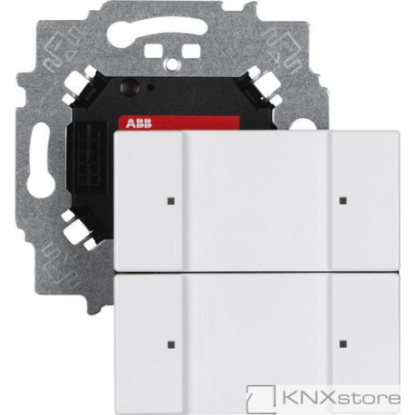 ABB KNX Prvek ovládací 2násobný se sběrnicovou spojkou