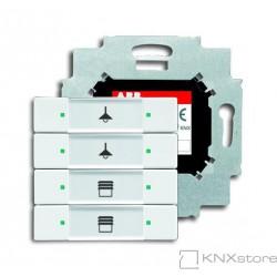 ABB KNX Prvek ovládací 4násobný se sběrnicovou spojkou