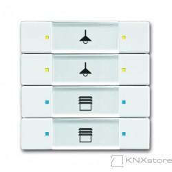 ABB KNX Prvek ovládací 4- / 8násobný
