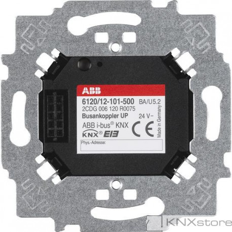 ABB KNX Sběrnicová spojka, zapuštěná