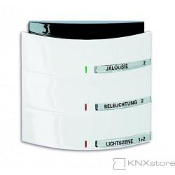 ABB KNX Triton prvek ovládací 3- / 6násobný s IR rozhraním