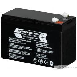 ABB Uzavřená olověná baterie,12VDC, 7Ah