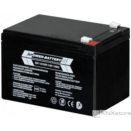 ABB Uzavřená olověná baterie,12VDC, 12Ah