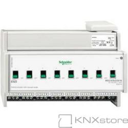 KNX spínací akční člen REG-K/8x230/16+manuální režim