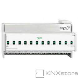 KNX spínací akční člen REG-K/12x230/16+manuální režim