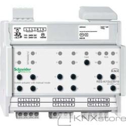 KNX spínací akční člen REG-K/12x230/10+manuální režim