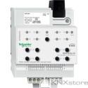 Schneider Electric KNX roletový akční člen REG-K/4x/10+manuální režim