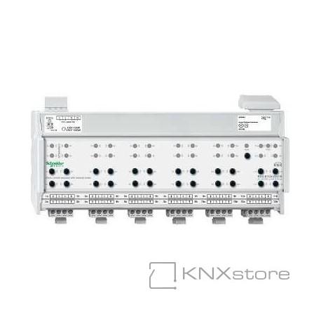 KNX žaluziový/spínací akční člen REG-K/12x/24x/10