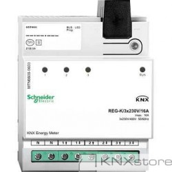 KNX Elektroměr REG-K/3x230V/16A