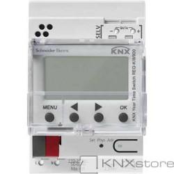 KNX roční časový spínač REG-K/8/800