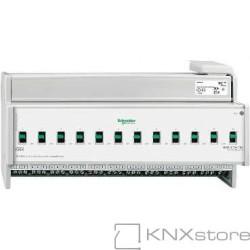 KNX Spínací akční člen Basic REG-K/12/16 A s manuálním ovládáním