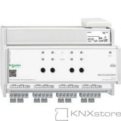 KNX univerzální stmívací akční člen LL REG-K/4x230/250W