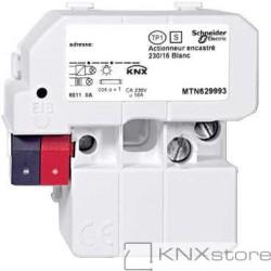 KNX spínací akční člen, zap.mon./230/16