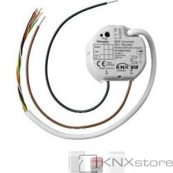 KNX univerzální stmívací akční člen pro zap. mon., 50-210W, s 2 BI