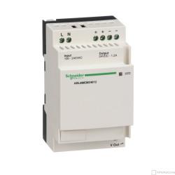 Schneider spínaný zdroj - 1 nebo 2-fáz. - 100..240 V AC - 24 V - 1.2 A