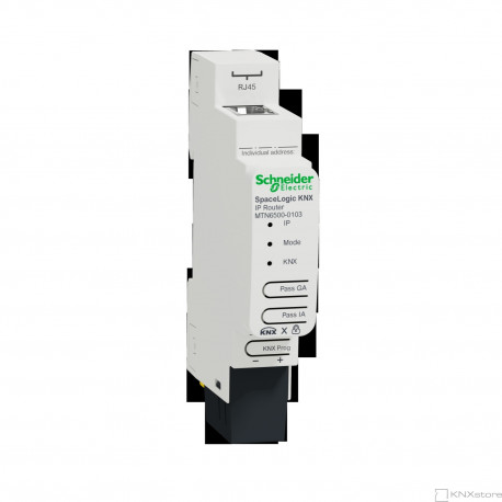 SpaceLogic KNX IP Router DIN Rail
