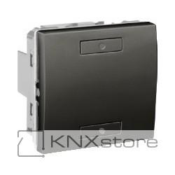 KNX Unica TOP multifunkční tlačítko 1-nás., grafit