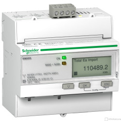 Elektroměr iEM3255, nepřímé měření, komunikace Modbus, MID, 1xWAGES
