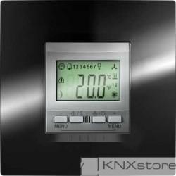 Schneider Electric KNX Unica TOP regulátor teploty místnosti s displejem, alu
