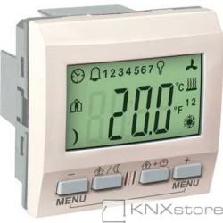 Schneider Electric KNX Unica regulátor teploty místnosti s displejem, marfil