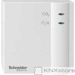 Schneider Electric KNX snímač CO2, vlhkosti a teploty