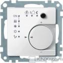 Schneider Electric Merten KNX - System M - řídicí modul pokojové teploty - polar wh.
