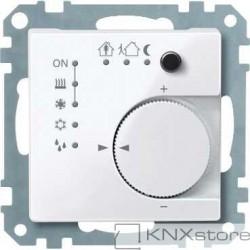 Schneider Electric Merten KNX - System M - řídicí modul pokojové teploty - active wh.