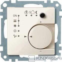 Schneider Electric Merten KNX - System M - řídicí modul pokojové teploty - white cream
