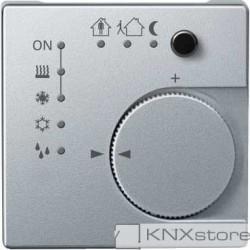 Schneider Electric Merten KNX - System M - řídicí modul pokojové teploty - aluminium