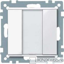 Schneider Electric Merten KNX - System M - tlač. panel 1-násobný plus - active wh.