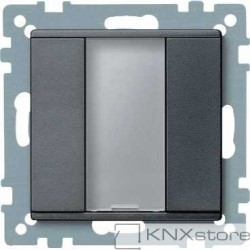 Schneider Electric Merten KNX - System M - tlač. panel 1-násobný plus - antracit