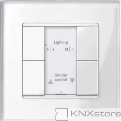 Schneider Electric Merten KNX - System M - tlač. panel 2-násobný plus - polar wh.