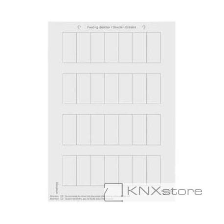 Schneider Electric Merten KNX - System M - archy štítků pro tlačítkové panely - polar white
